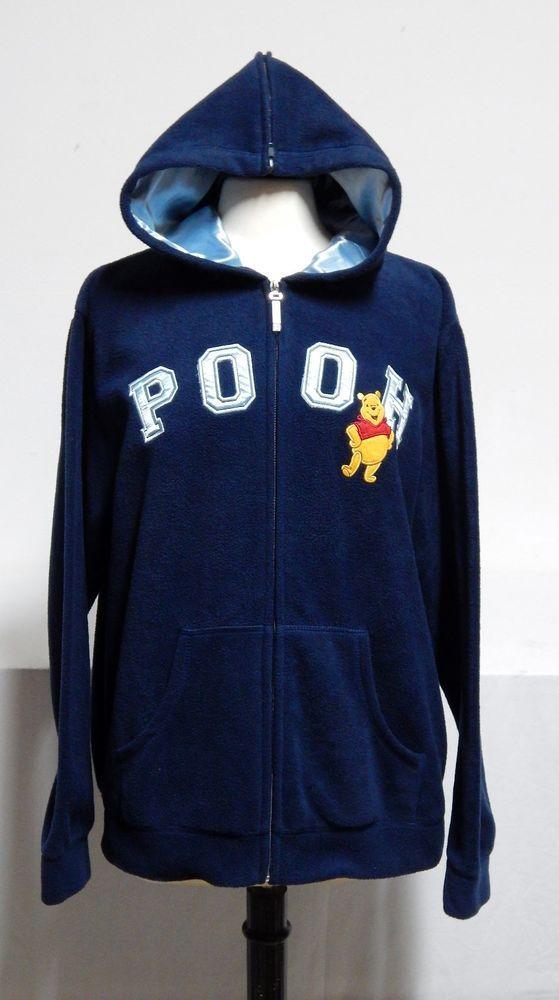 Womens Disney Winnie The Pooh Sweatshirt Zippered Hoodie Xl Very Nice Hoodies Sweatshirt Zipper Zipper Hoodie