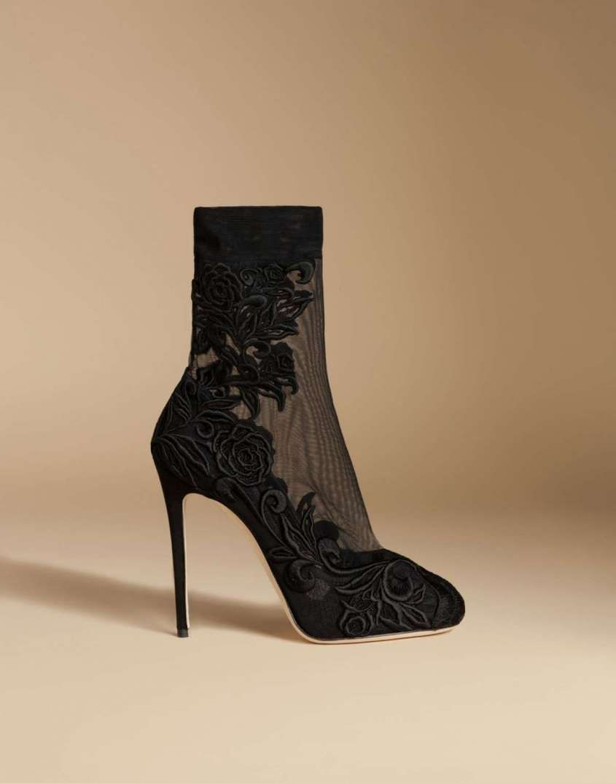 c482e3f119d97 Collezione scarpe Dolce e Gabbana Primavera-Estate 2016 - Décolleté in raso