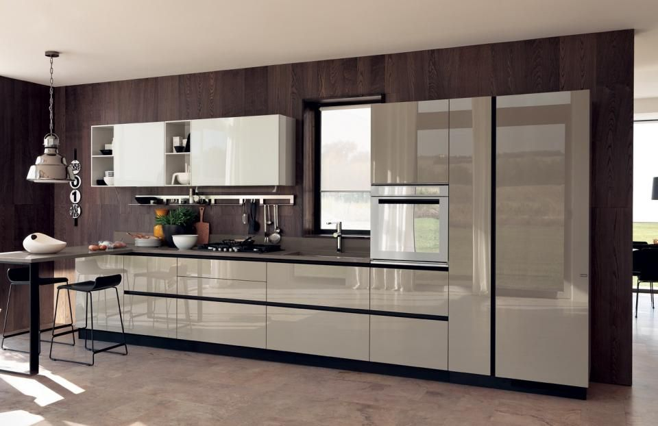 Pricey Italian Kitchen Cabinets Fit Those Where Cost Is Not A Factor Kitchen Design Trends Kitchen Design Open Contemporary Kitchen Design