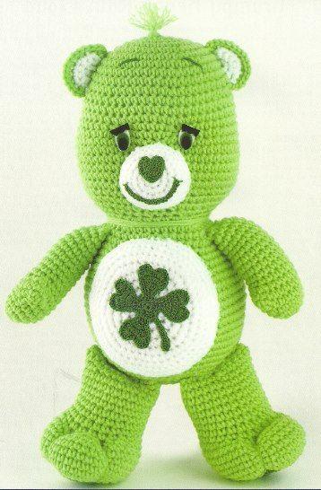 Good Luck Bear Care Bears Crochet Pinterest Bears Crochet And
