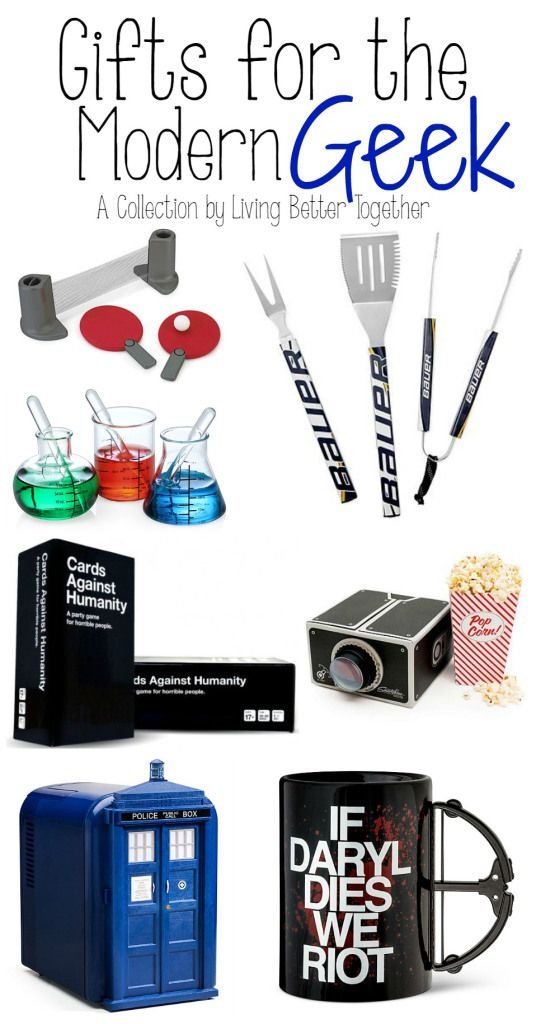 Geek Christmas Gifts.20 Gifts For The Modern Geek From Games To Tech There S A