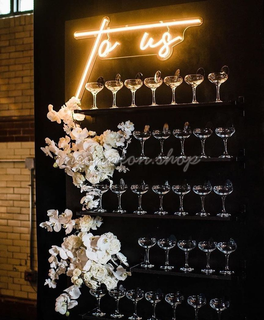 To Us Wedding Neon Sign Want a neon sign? 👉 Visit
