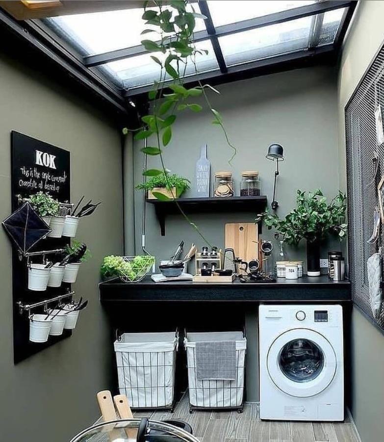 Desain Tempat Cuci Baju Outdoor