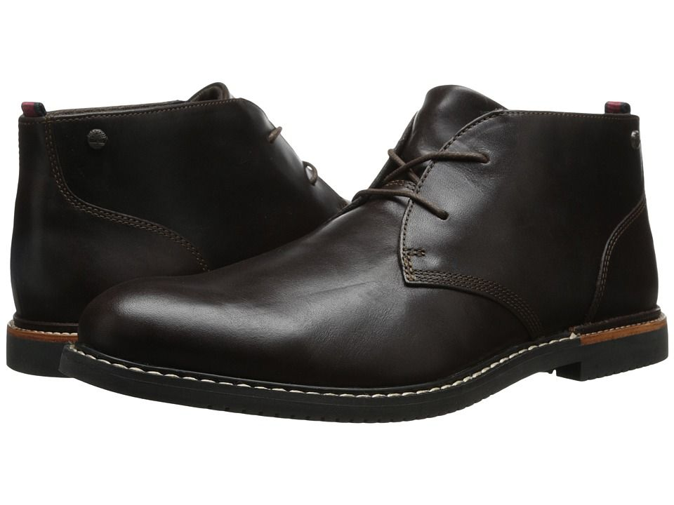 8fcc0f82067 TIMBERLAND TIMBERLAND - EARTHKEEPERS(R) BROOK PARK CHUKKA (BROWN SMOOTH) MEN S  LACE-UP BOOTS.  timberland  shoes