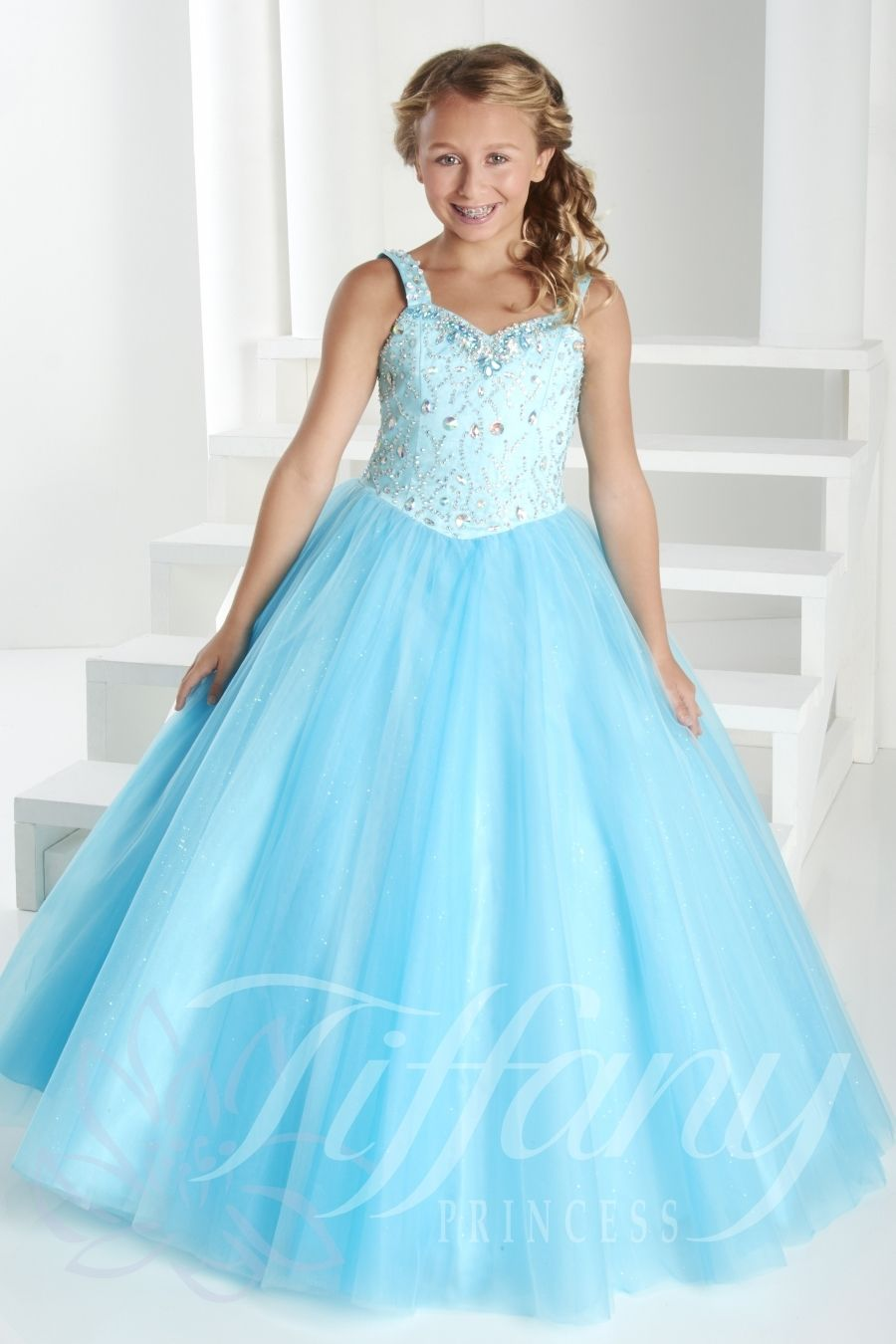 Tiffany Princess Little Girls Dress 13409 - Everything4pageants.com ...