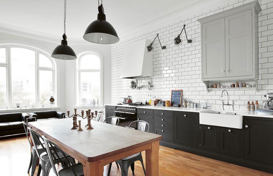 landlord living nordische landhausk chen k chen. Black Bedroom Furniture Sets. Home Design Ideas