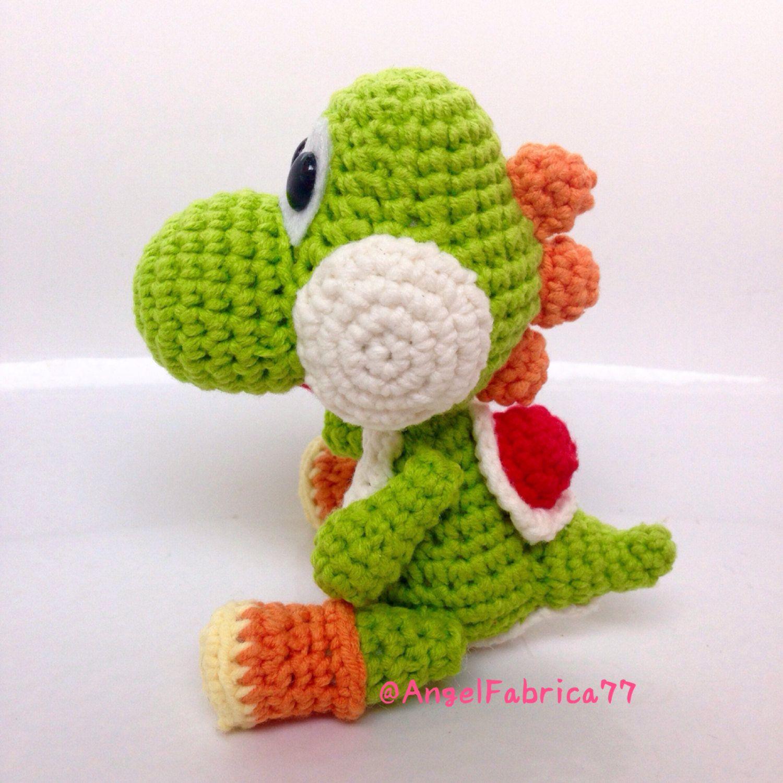 JBcrochetwizard — Yoshis! 💚💙 Amigurumi pattern is available... | 1500x1500