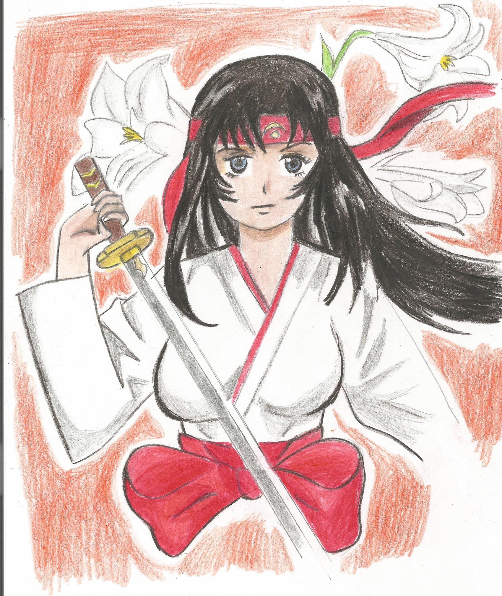 Lady Tomoe Queen's Blade Fan Art