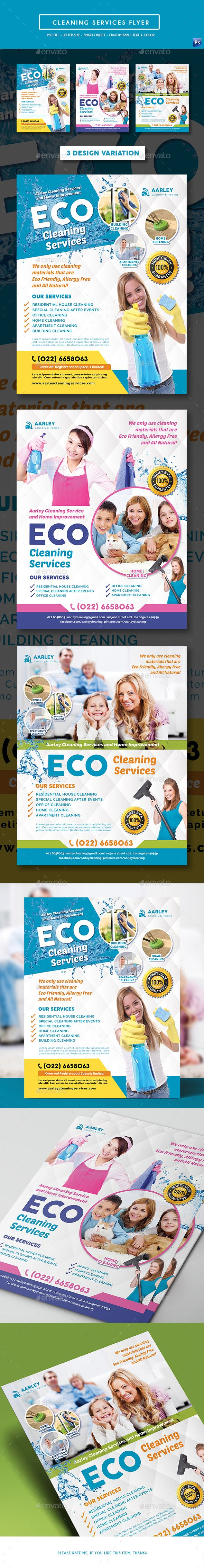 Cleaning Services Flyer Corporate Flyers Download here