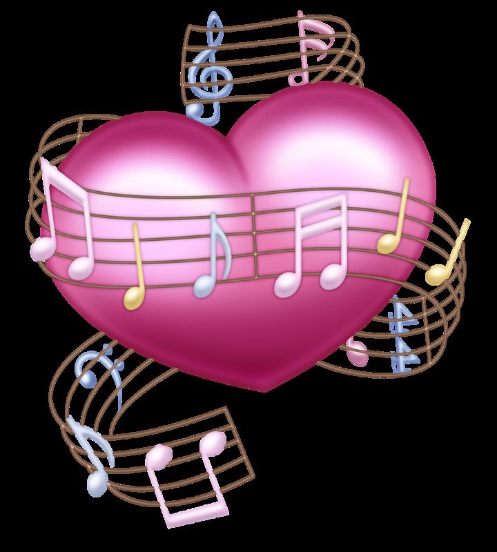 Картинки с сердечками и нотами