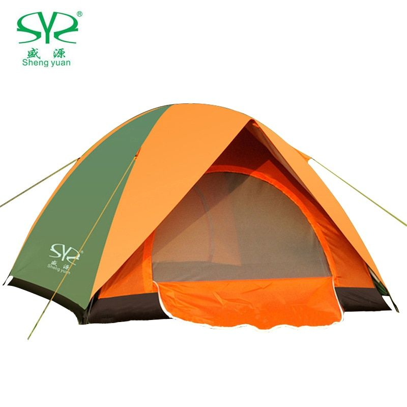 For 1//2//3-4 Person Camping Tent UV Protection Waterproof Outdoor Hiking Tent Bag