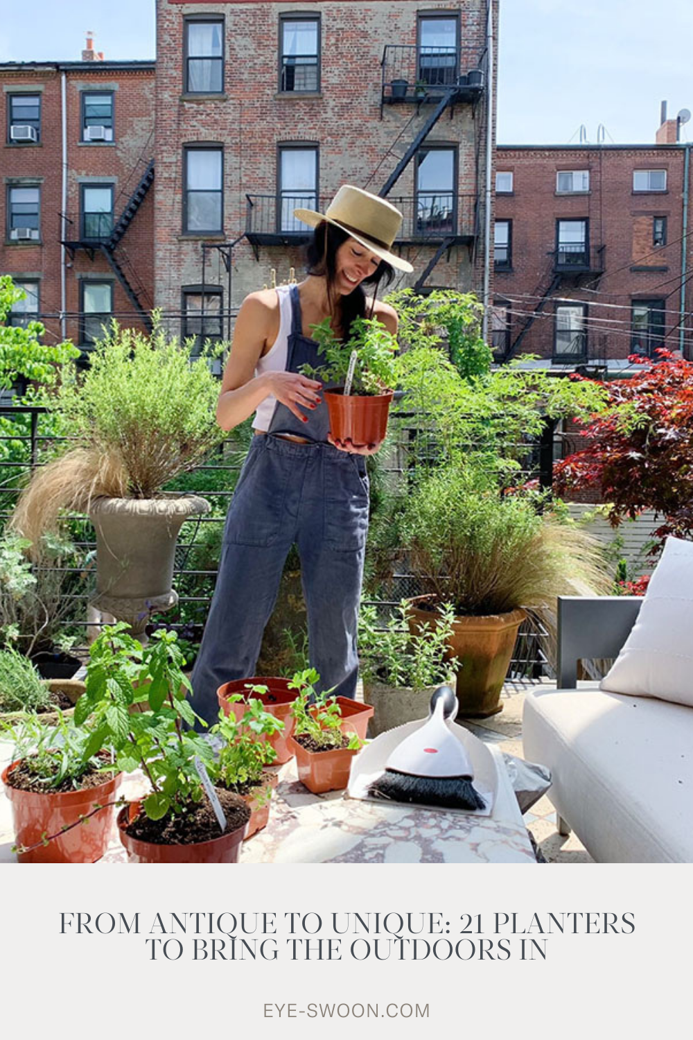 21 Of The Best Planters To Bring Mother Nature Indoors In 2021 Eyeswoon Athena Calderone Terrace Garden Design