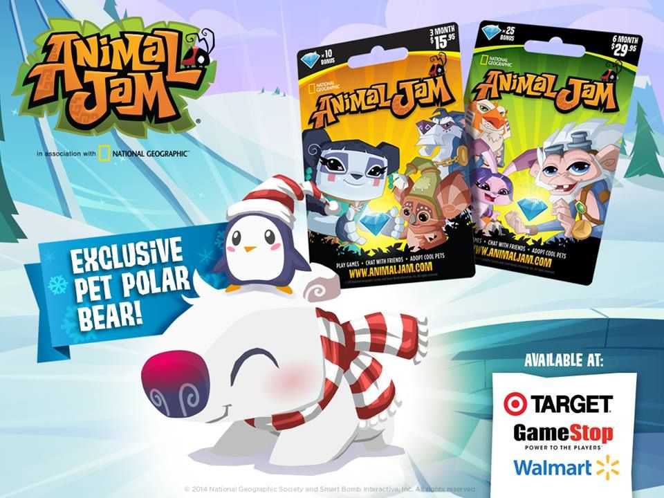 Animal Jam - an online interactive playground for kids! Free and - free membership cards online
