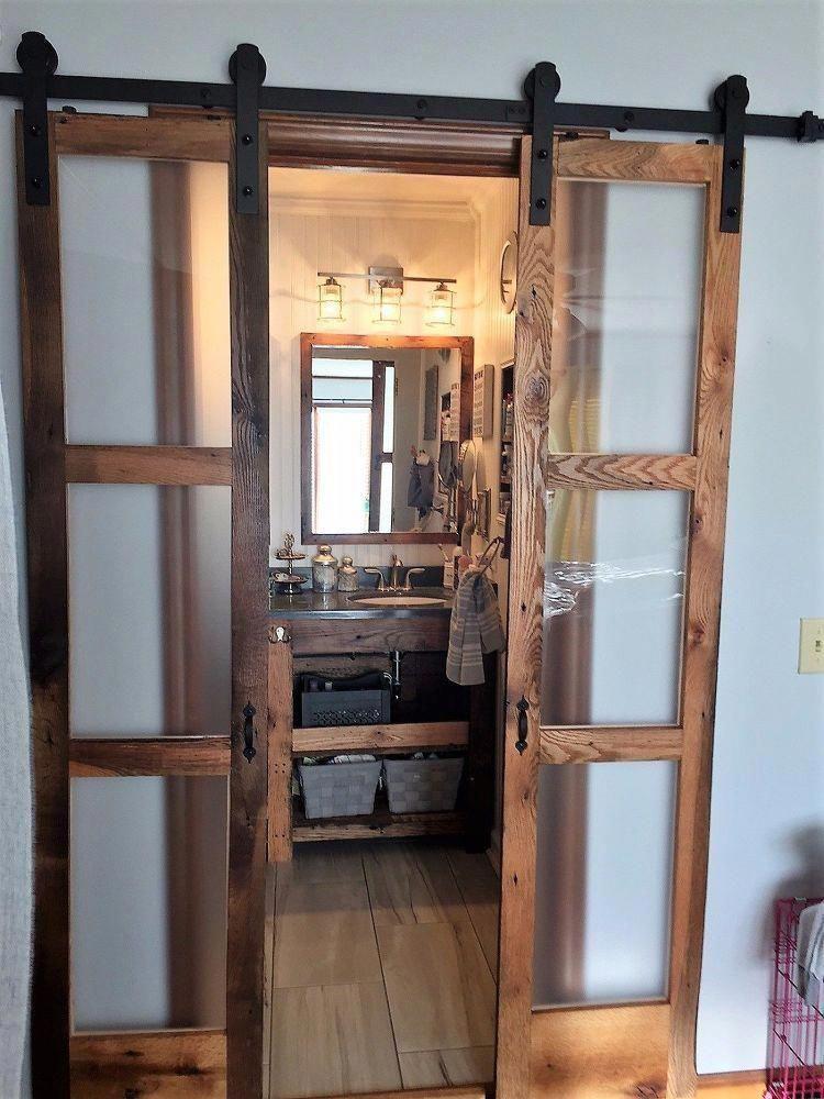 Sliding Wood Barn Doors Interior | Indoor Barn Doors For ...