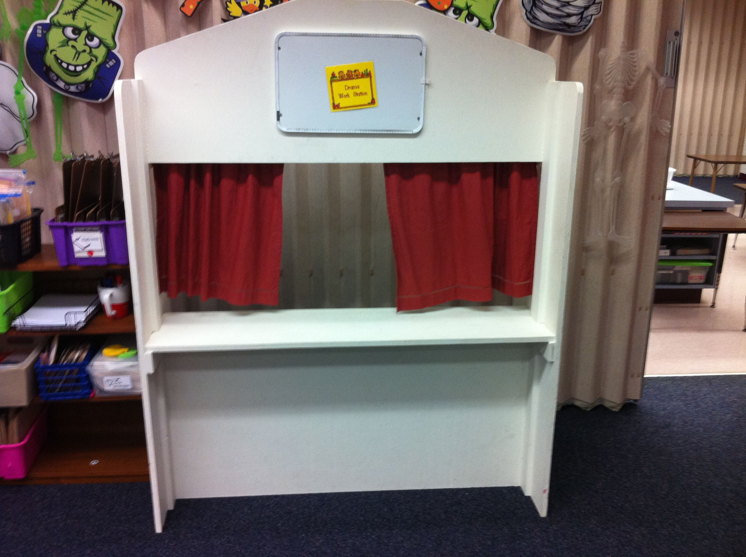 Retelling Station Repaint Amp Rename Puppet Theater This