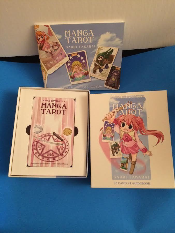 Manga Tarot 2008 78 Cards Box Booklet