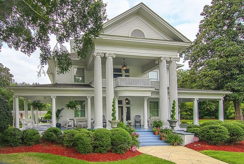 Architectural Styles Cottage House Plans House Plans One Story Greek Revival Home