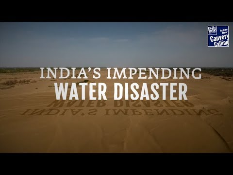 The Water Crisis In India Is Not As Sudden As One Might Think Sadhguru Talks About How He Has Been Watching This Unfold For The L With Images Water Water Crisis