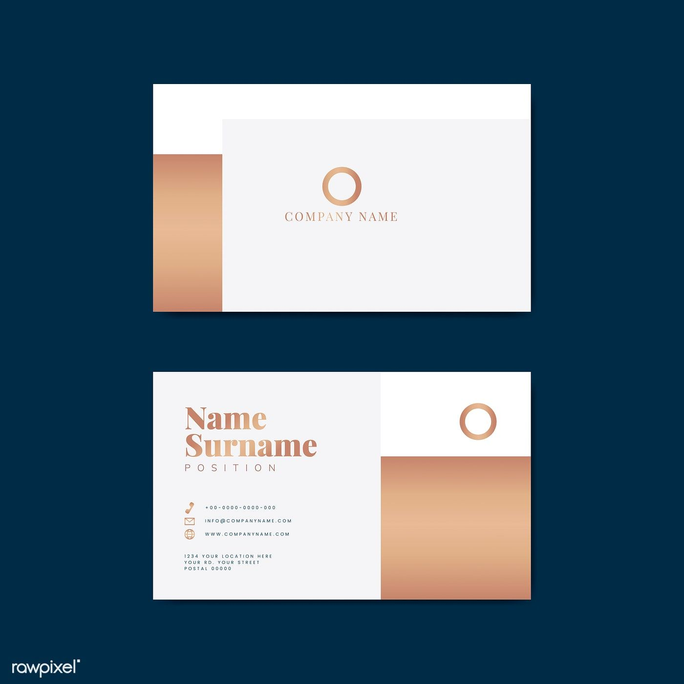 Monotone Business Card Template Mockup Vector Free Image By Rawpixel Com Tvz Free Business Card Templates Business Card Design Minimal Vector Business Card
