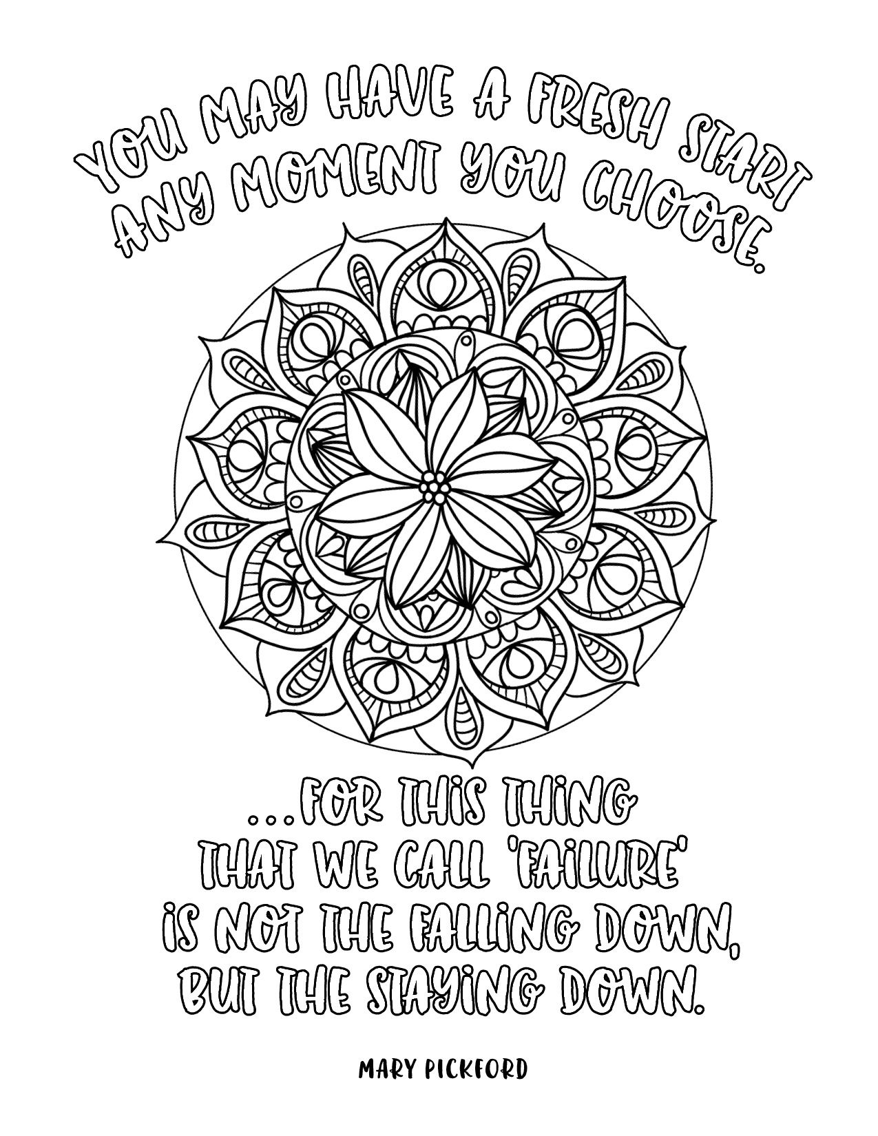 Image result for adult coloring quotes | Quote coloring ...