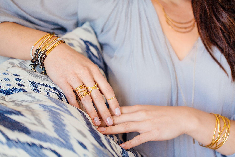 Power Gemstone Bracelet // Lola Ring // Elea Ring // Lola Cuff