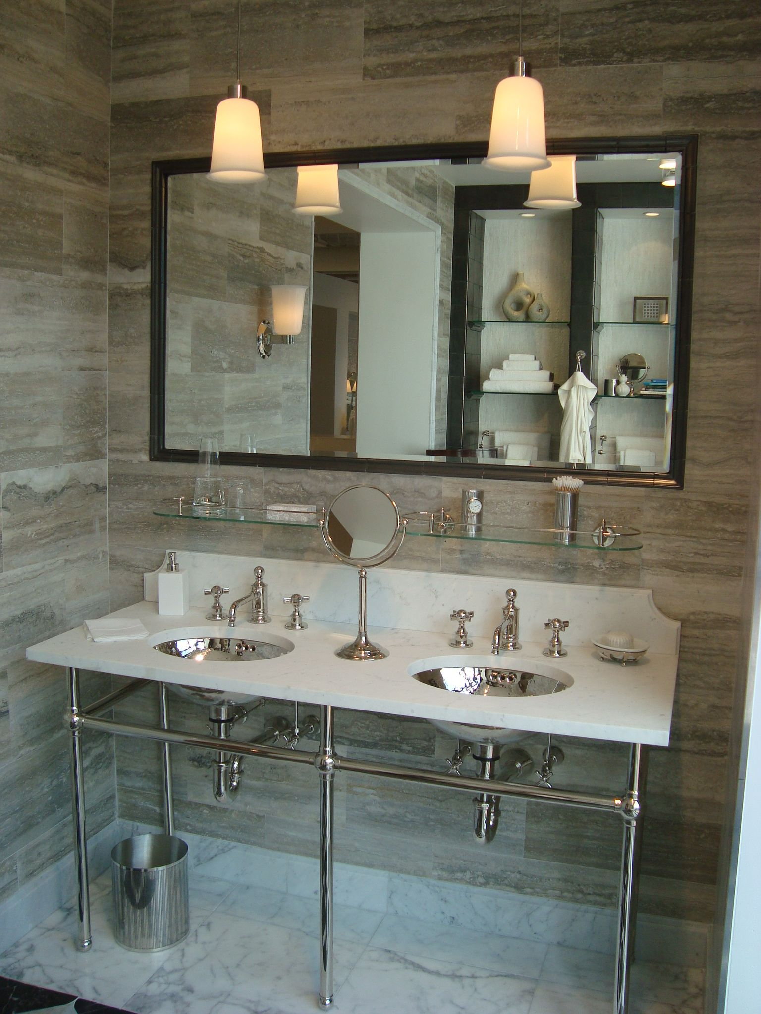Bathroom Design Denver Captivating Waterworks Miami Showroom Display  Our New Country House Project Design Ideas