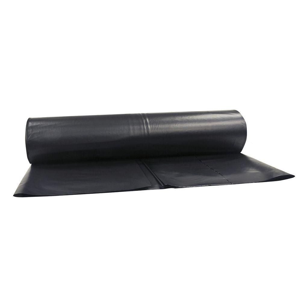 Hdx 10 Ft X 100 Ft Black 6 Mil Plastic Sheeting Cfhd0610b In 2020 Black Plastic Sheeting Plastic Sheets Outdoor Protection