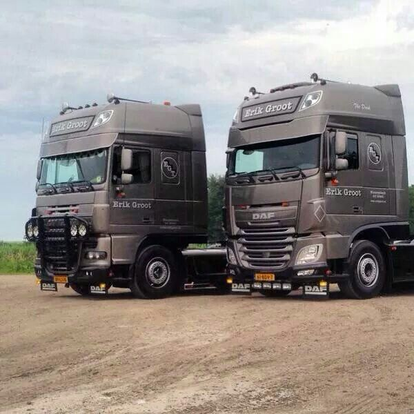 Daf XF old and new