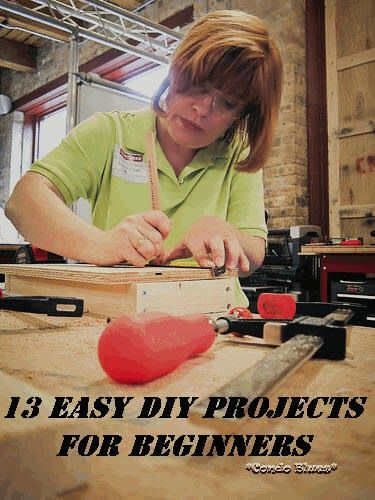 16 Easy DIY Project for Beginners