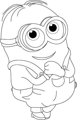Resultado de imagem para minions para colorir | Kids | Pinterest ...