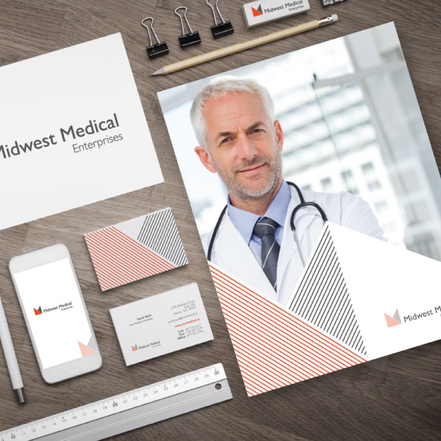 Complete brand rehaul for our client Midwest Medical