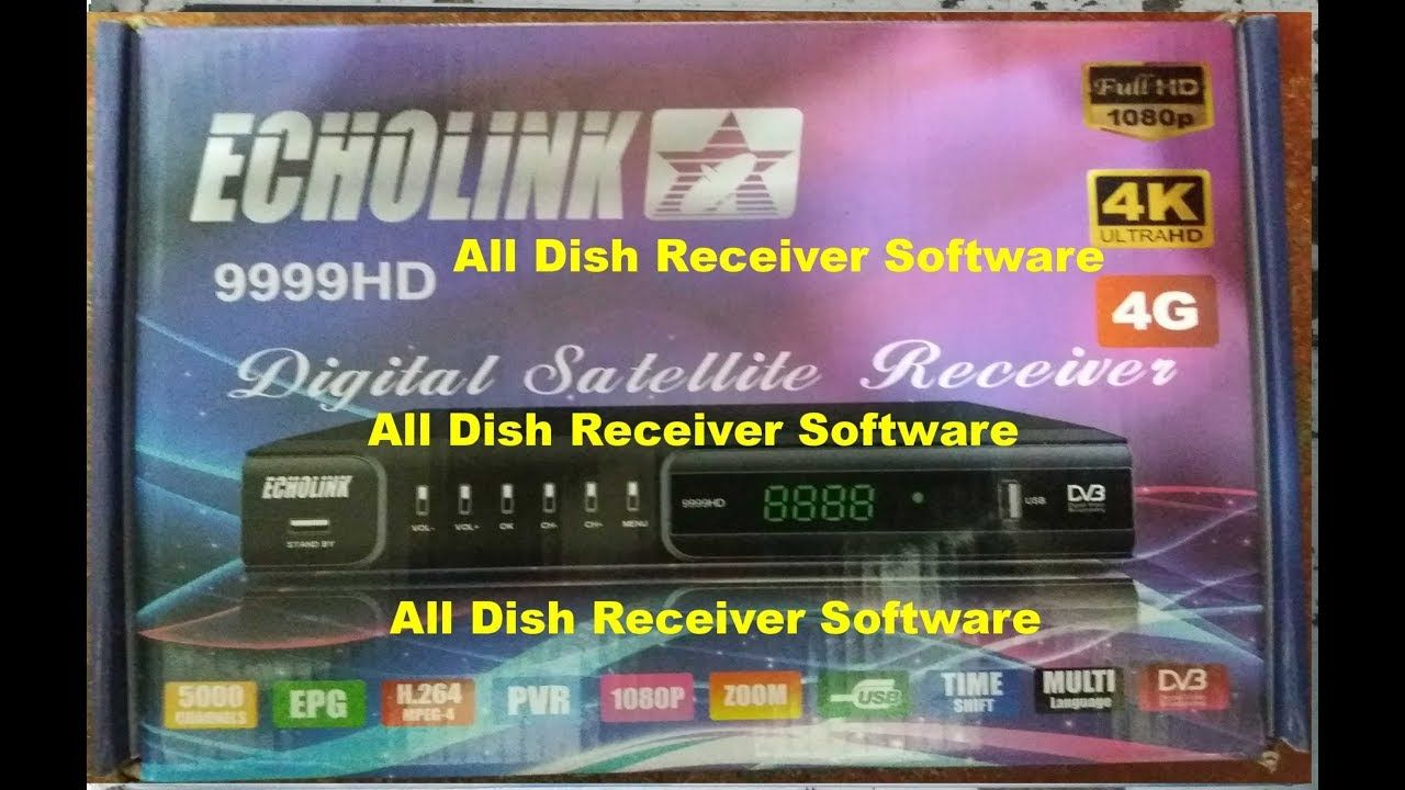 ECHOLINK 9999 HD RECEIVER AUTO ROLL BISS KEY NEW SOFTWARE | All Dish