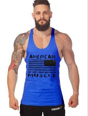 2991a1ba7f248 Bodybuilding Muscle Stringer Singlet Tank Top Gym Wear