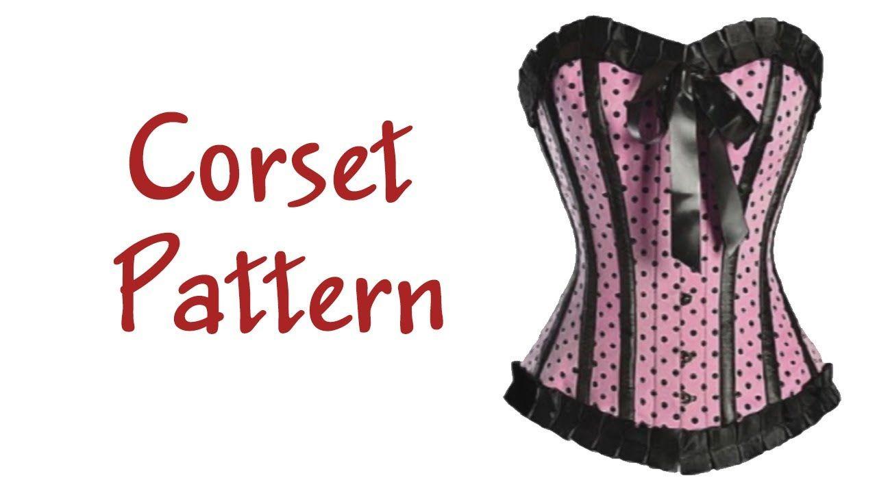 Corset Pattern. How to make a corset? FREE PATTERN | fashion design ...