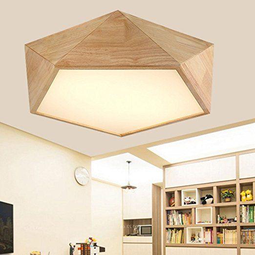 Ywyun plafond en bois de style japonais, que la lumière du plafond