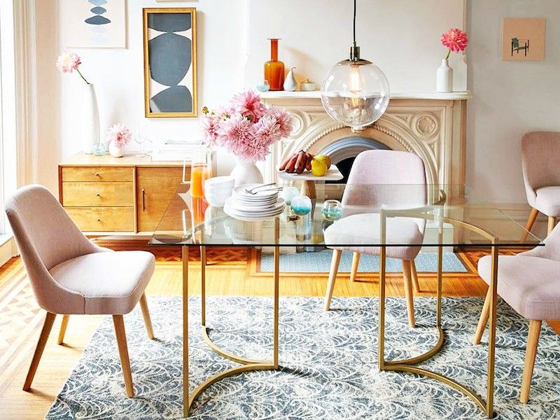 How to Mix and Match Your Dining Room Home fice Pinterest