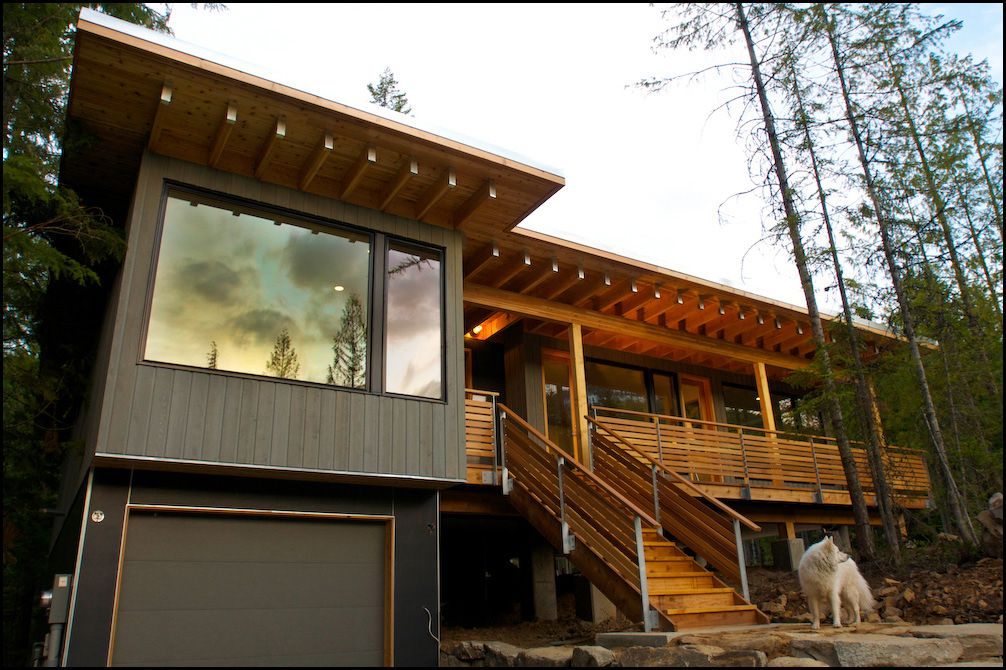 Contemporary Modular House Built At Red Mountain In