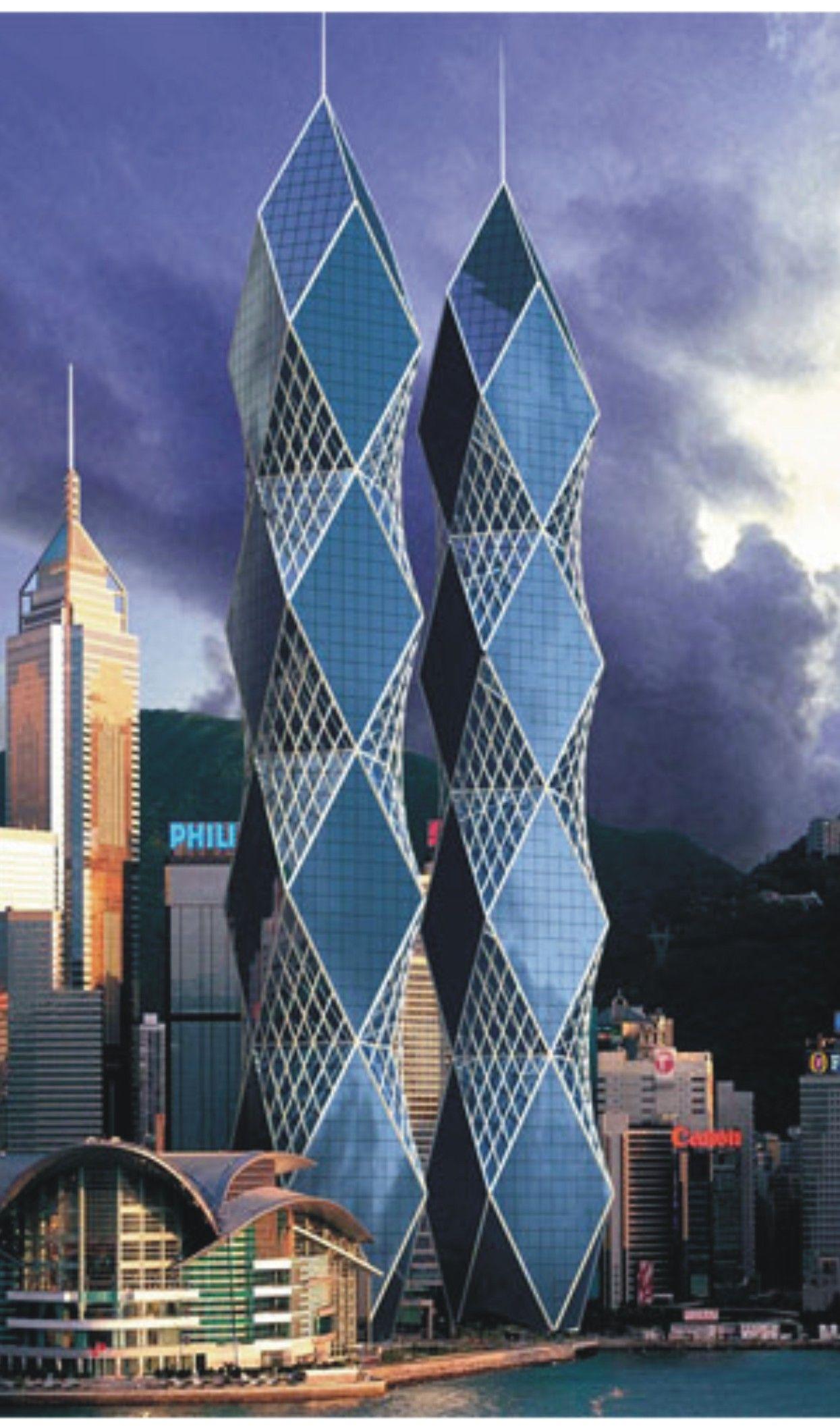 Pin by salaheddin m kayyal on skyscrapers towers - Architektonische meisterwerke ...