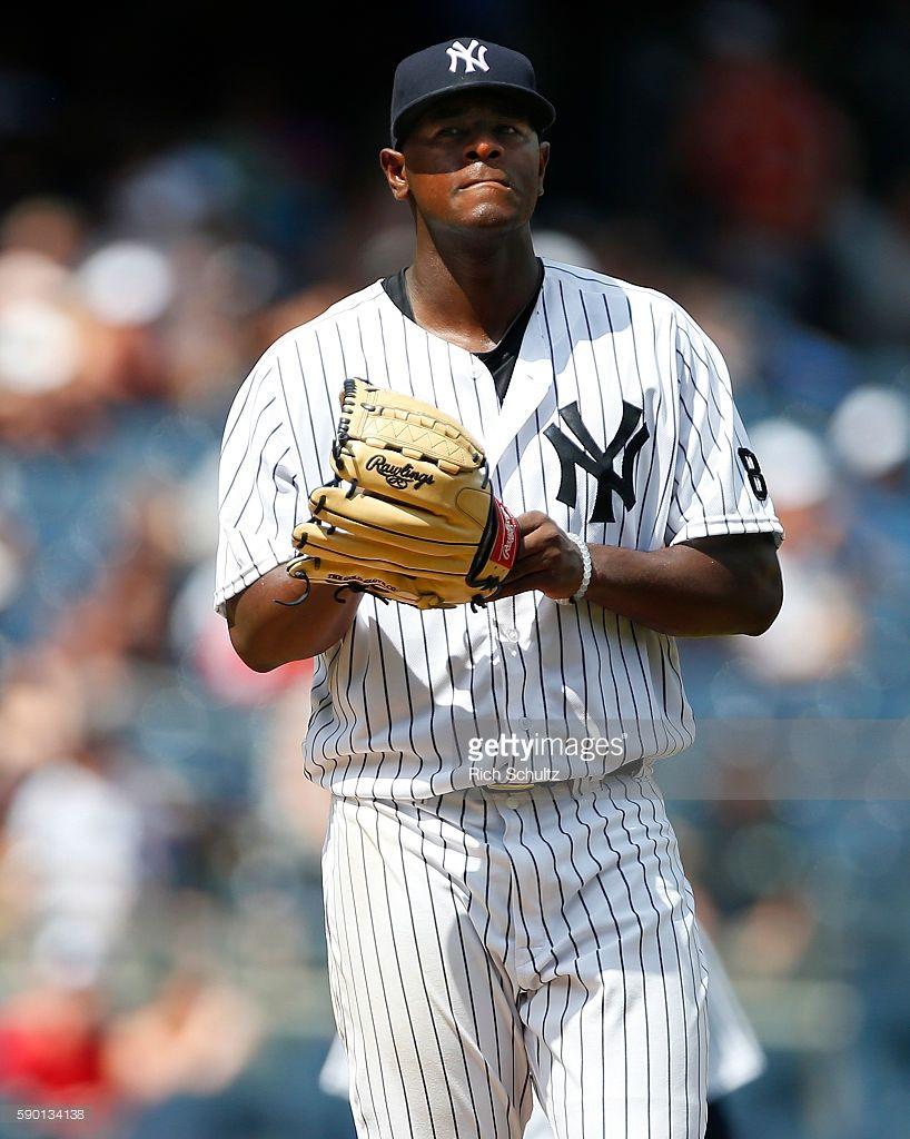 Luis Severino Nyy Aug 14 2016 V Tb New York Yankees Ny Yankees Yankees