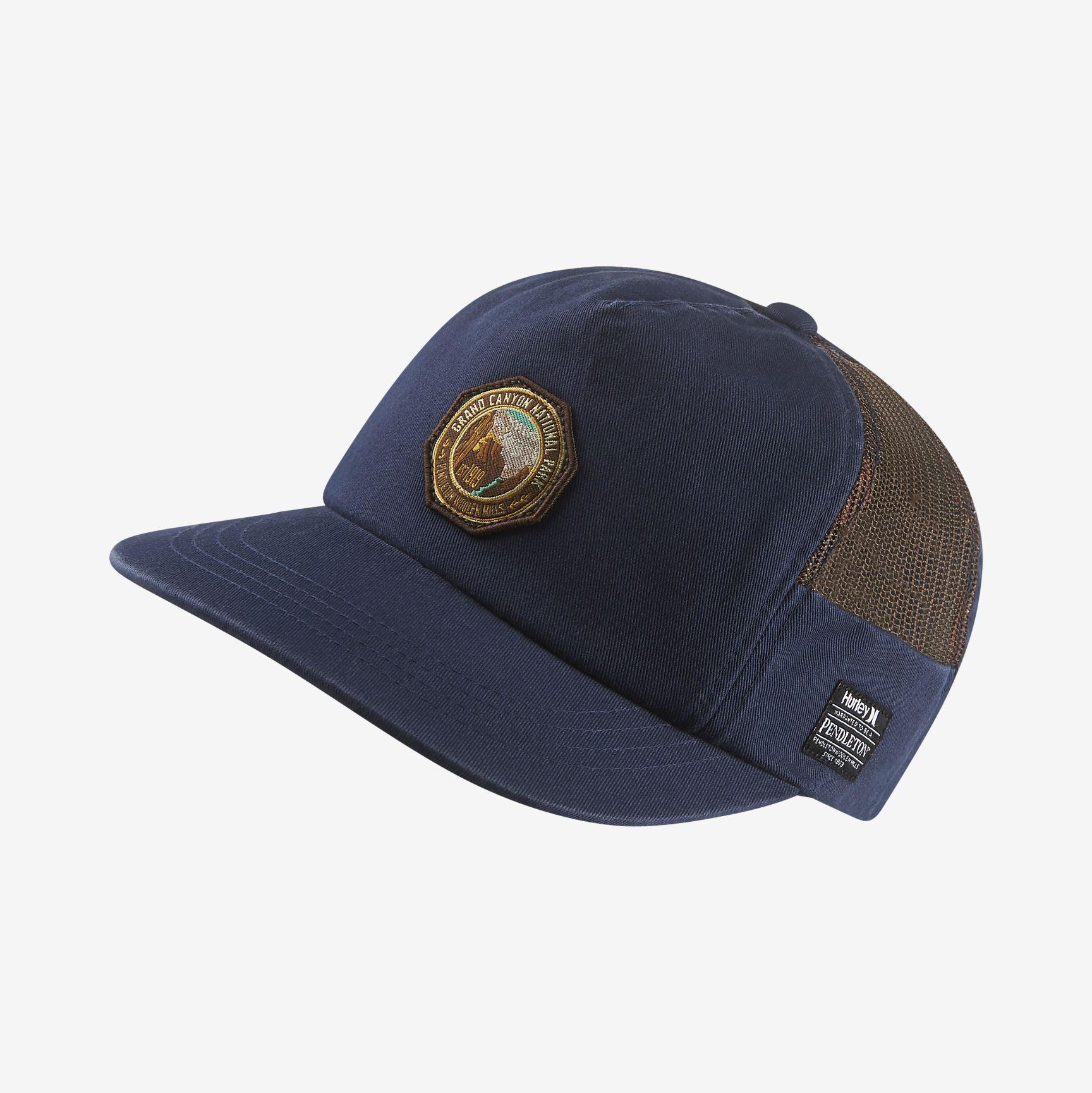separation shoes c460c 3e071 Hurley Pendleton Grand Canyon Men s Adjustable Hat