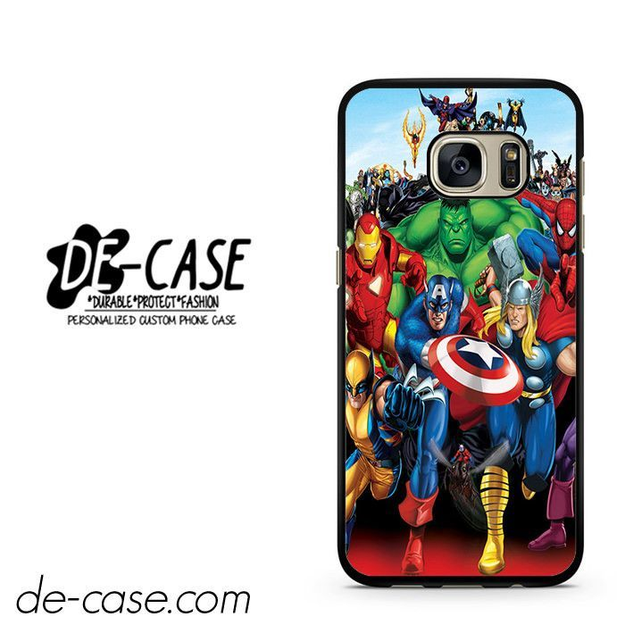 Marvel Heroes Comic Poster DEAL-6952 Samsung Phonecase Cover For Samsung Galaxy S7 / S7 Edge