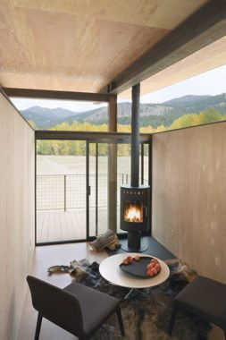 Top Window Running Under Roof Line Gives Great Views Of Stars And