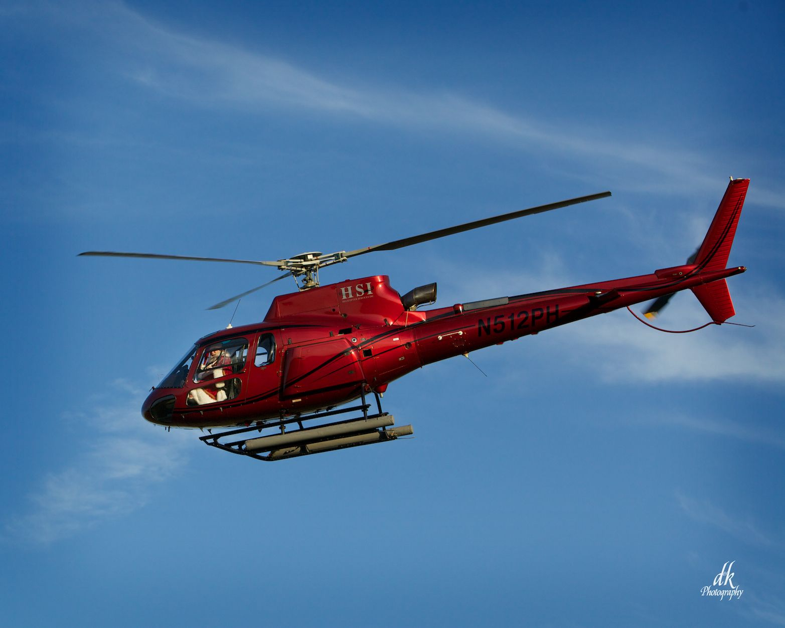 Helicopter Services, Inc. and Santa.