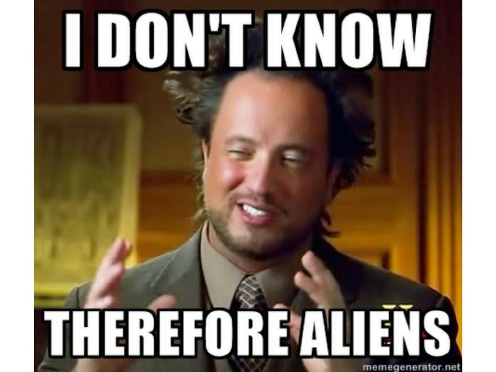 Funny ancient aliens memes featuring that guy from the