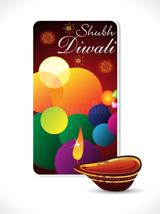 Abstract Diwali Background Template Stock Vector - Illustration of artistic, abstraction: 27198492