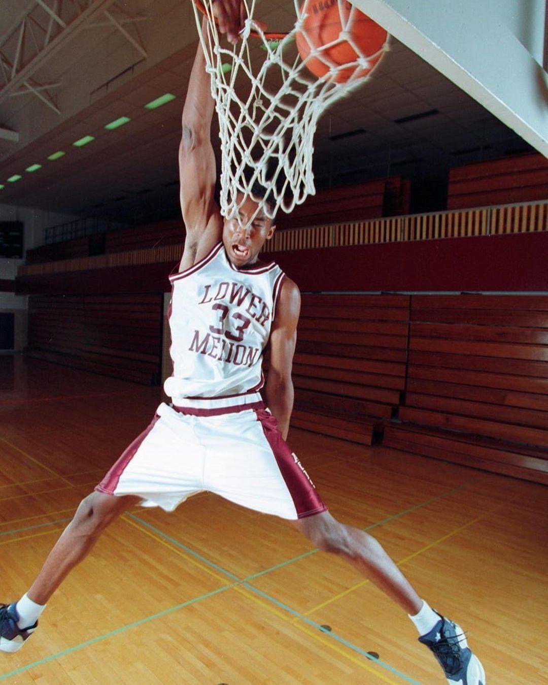 Lower Merion High School 33 Kobe Bryant Throwback