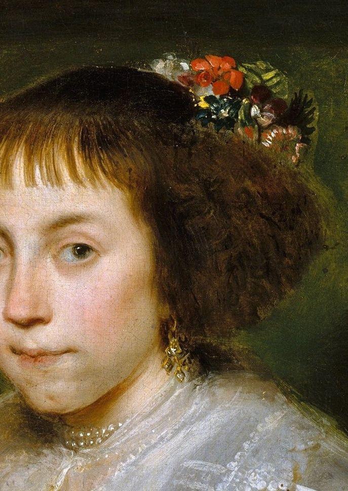 Cornelis de Vos - Portrait of a Young Woman