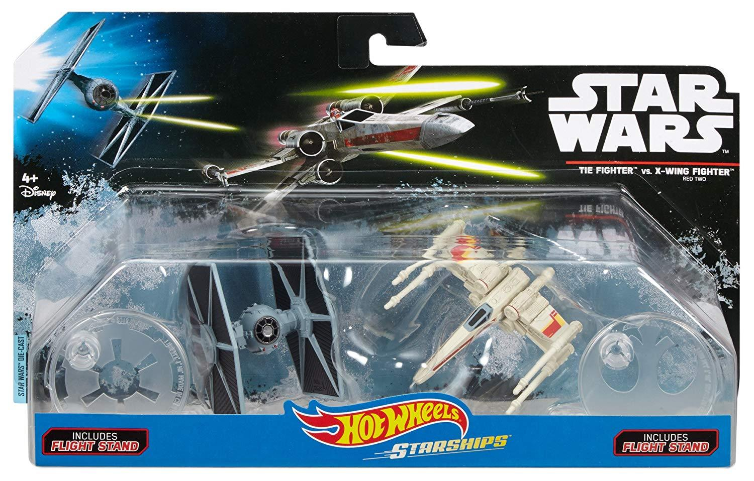 Disney Diecast X Wing Hot Wheels Tie Fighter Vs X Wing Fighter Products X