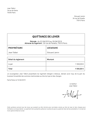 Quittance De Loyer Excel : quittance, loyer, excel, Quittance, Loyer, Recherche, Google, Documents