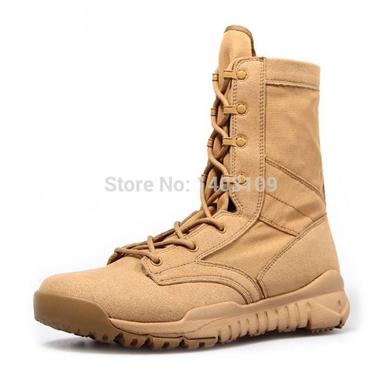 d059724fbbbe1 Ultra light America Special Forces Combat Boots,Men's Desert Boot ...